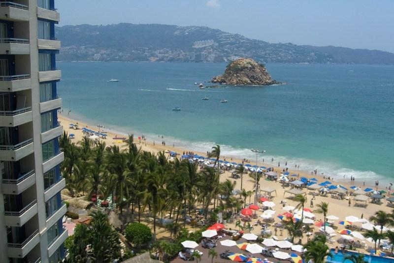 Acapulco beach