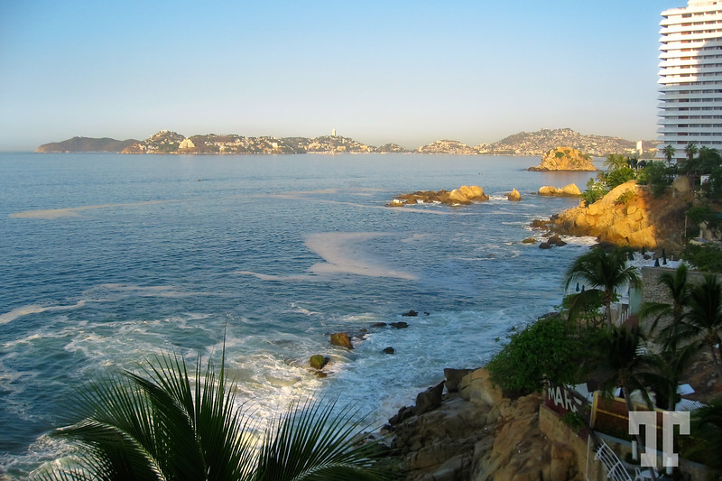 Hotels around the Acapulco Bay