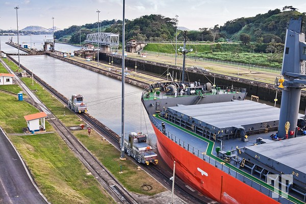 Crossing Panama Canal