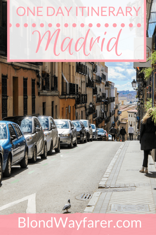 what to see in madrid in one day | one day in madrid | visit madrid | visit spain | solo female travel | day trips from madrid