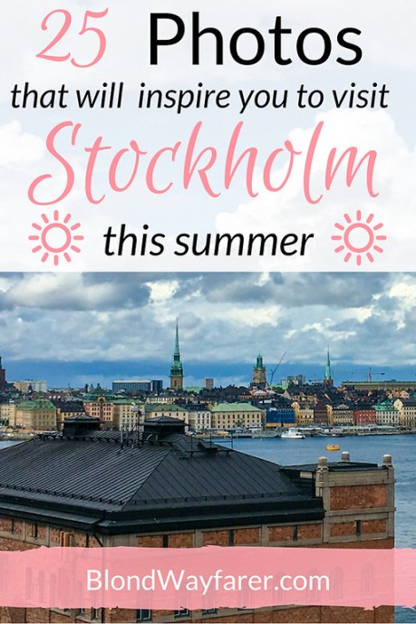 visit stockholm this summer | sweden | travel inspiration | europe travel | solo female travel