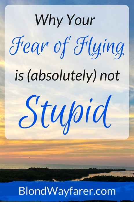 fear of flying isn't stupid