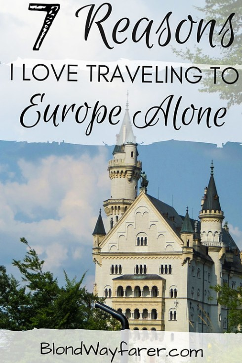 traveling to europe alone