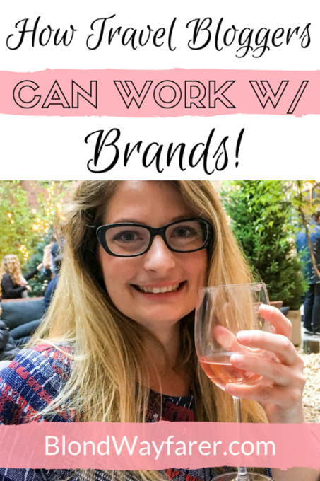 how travel bloggers can work with brand | travel bloggers | content creation | partnerships | collaboration | working with brands | blogging | blogging tips | digital nomads | how to be a blogger