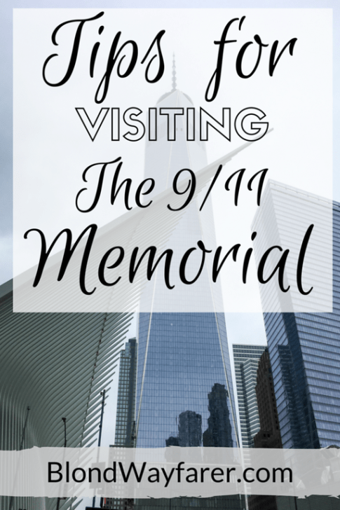 visiting the 9/11 memorial | 9/11 memorial and museum | visit nyc | visit new york | new york city | visit usa | travel tips | solo female travel