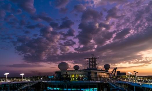 Sunrise at the Port in Livorno