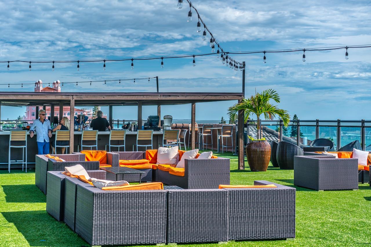 Rooftop Bar at the Zamora