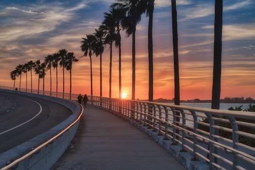 Sunset over the Ringing Bridge