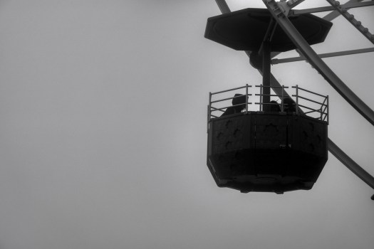 Tibidabo In The Fog