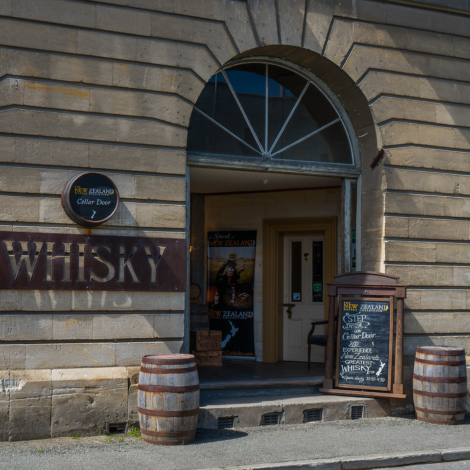The New Zealand Whiskey Collection in Oamaru