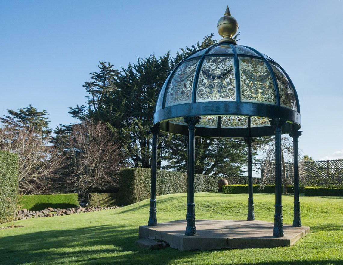 Gardens at Larnach Castle on Otago Peninsula