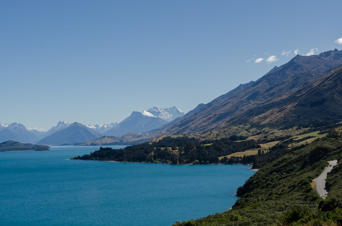 Lake Wakatipu and the Glenorchy Road, autumn 2014