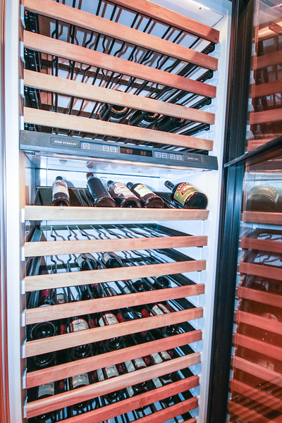 wine storage at 319 Pelican Flight