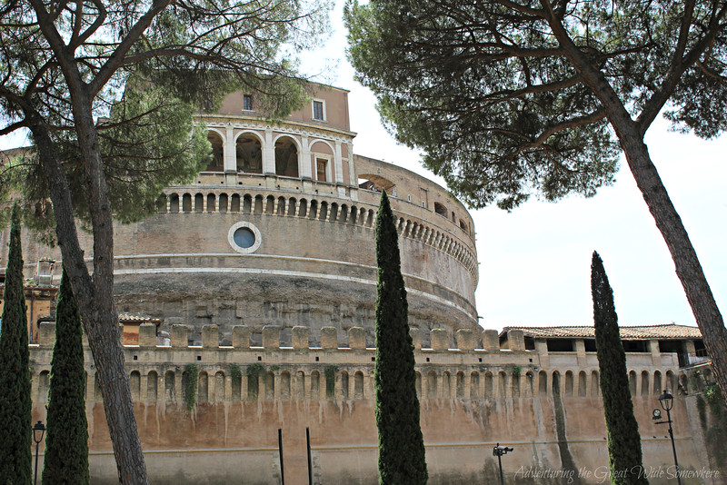 Castel Sant'Angelo Seen from the Park