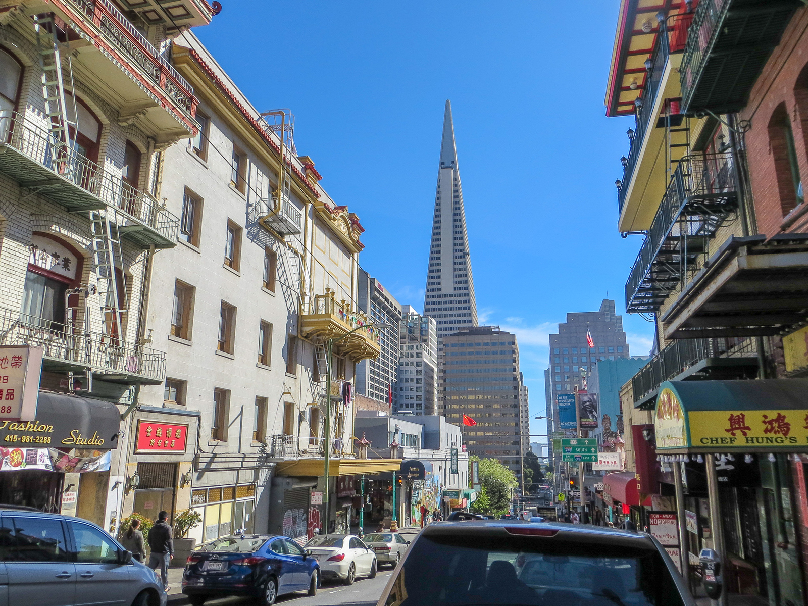 walking on a sunny day with 48 hours in san francisco