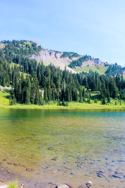 clear waters which you must see on your mount rainier tours
