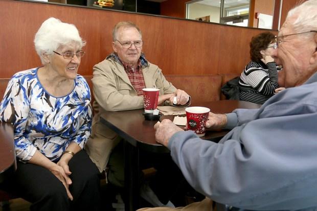 Image result for seniors in mcdonalds