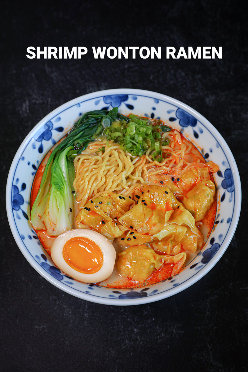 Whole Shabang Shrimp Wonton Ramen Recipe