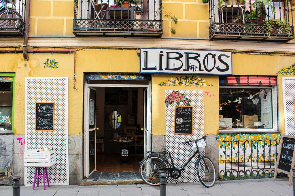This book lover had a wonderful time alone in Madrid