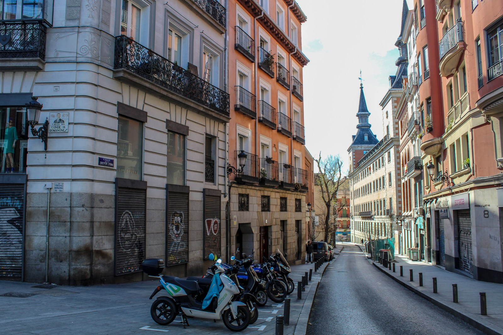 i experienced a lot of travel stress reaching madrid