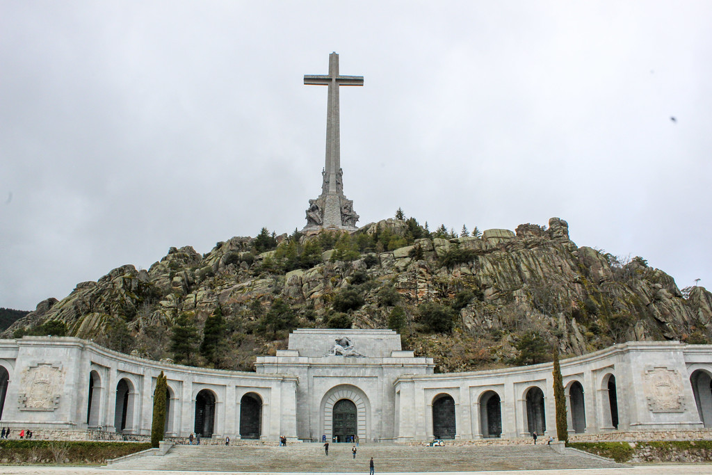 When traveling to Madrid alone, you can take a bus tour to the Valley of the Fallen