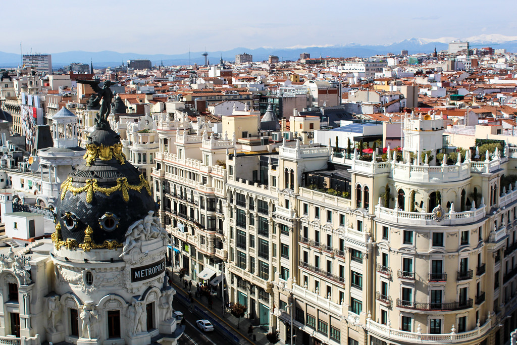 what to do in madrid for a day? go enjoy a rooftop bar!