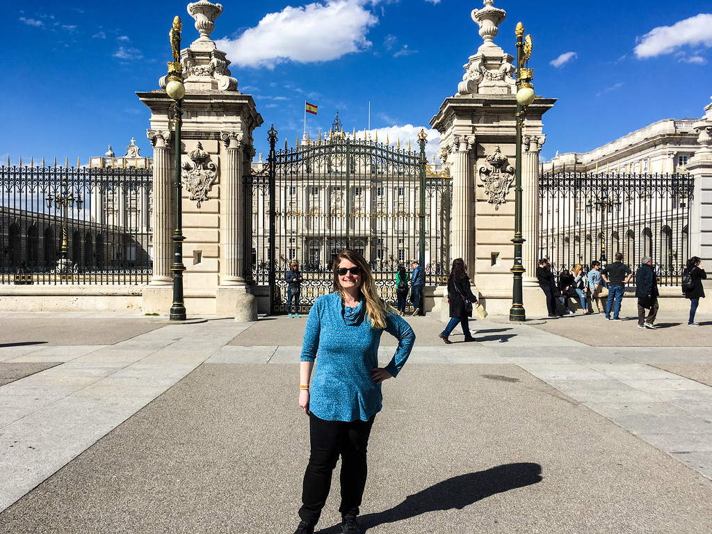 Solo Travel in Madrid means seeing a lot of incredible palaces