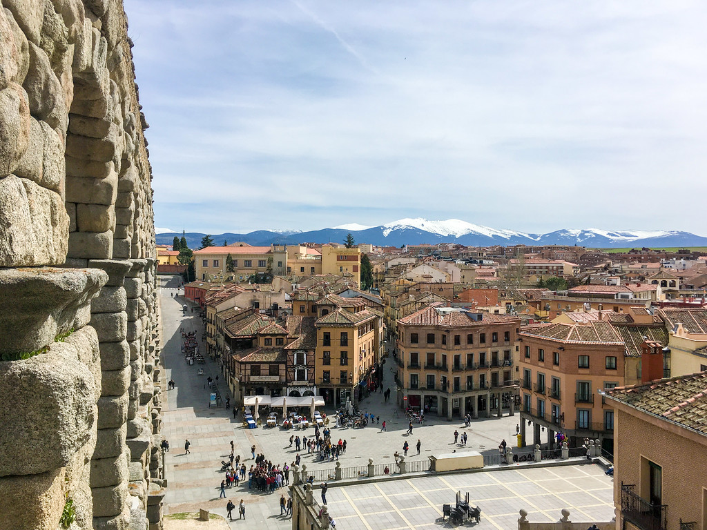 day trips from madrid spain include great mountain views