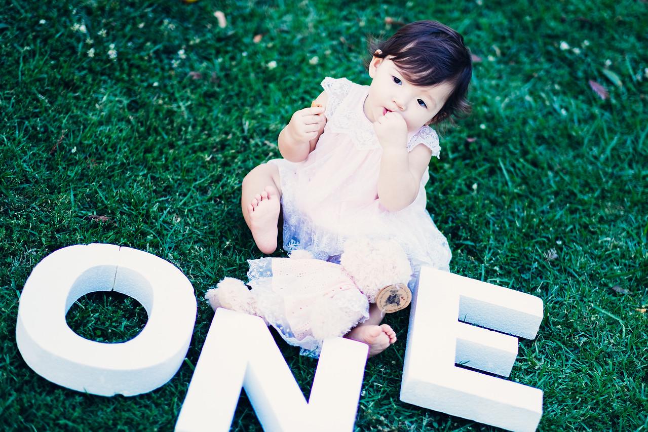 Kalina One Year Old