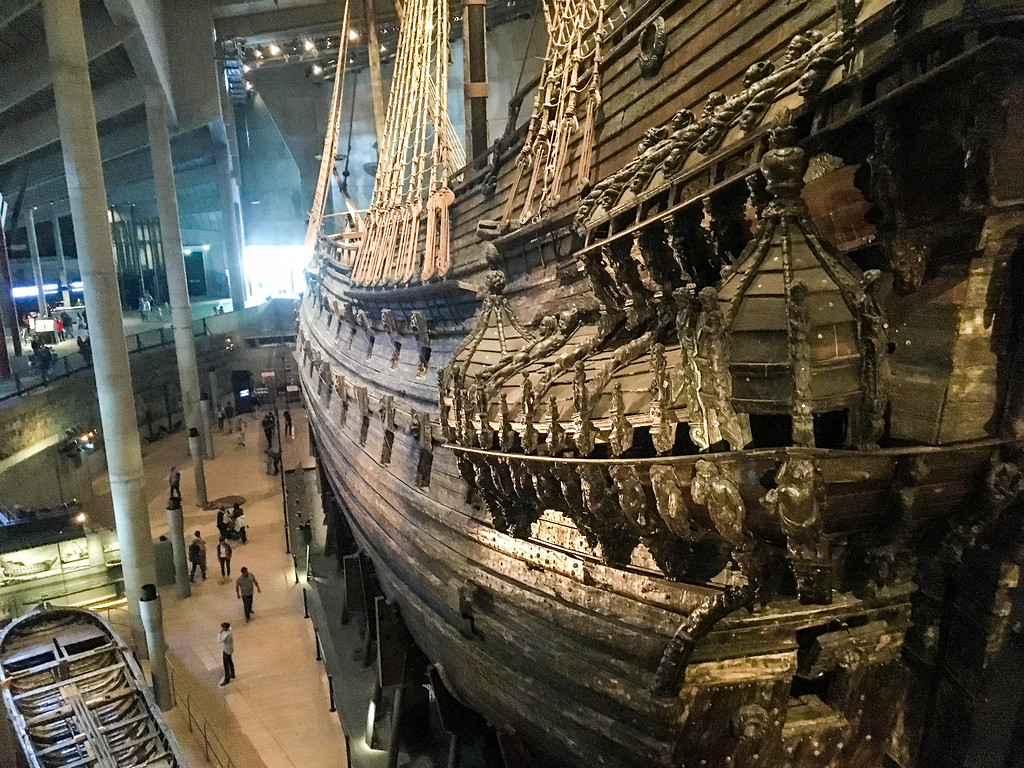Visiting the Vasa Museums is one of the greatest experiences to have in Stockholm