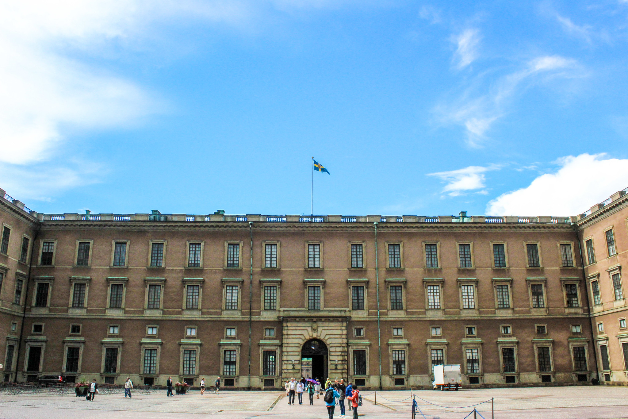 stockholm 1 day item: go see the royal palace