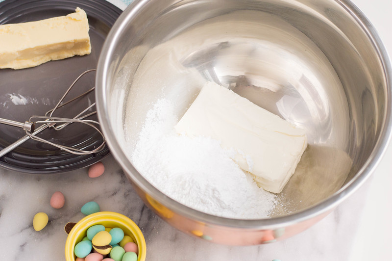 This Cream Cheese Dip for Easter is a perfect treat and dessert for Easter. It uses ingredients you probably already have at home for an at-home celebration