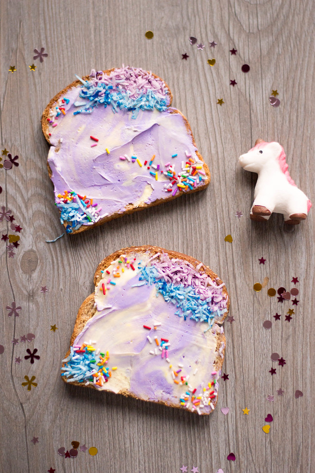 Elevate your breakfast at home experience by making this Unicorn Toast for your family. It helps make the ordinary feel extraordinary these days!