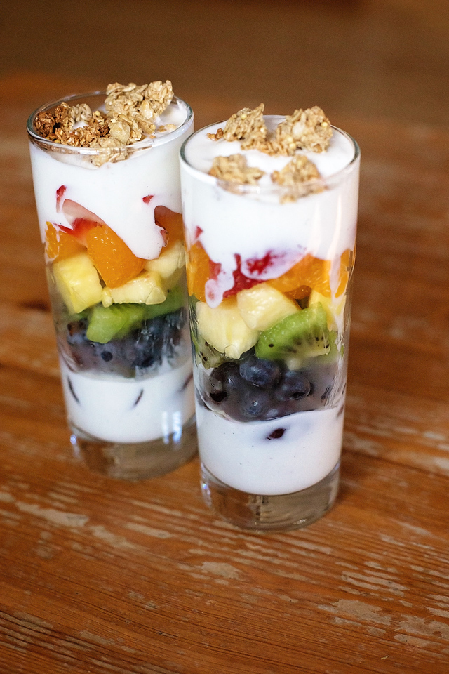 #AD This Yogurt Rainbow Parfait recipe is perfect for those spring mornings and snacks. We use Delta® Greek Yogurt, which is thick and creamy and perfect.