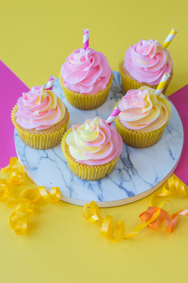 These Pink Lemonade Cupcakes are everything summer, and more! Use them for summer get togethers, summer birthdays, or for any occasion because they're great