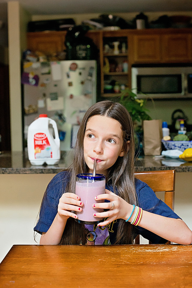 #ad See why Hood Milk is the favorite milk for our family and all of the reasons why we love it. Plus, a kid-friendly smoothie recipe we love! #IC #HoodMilk