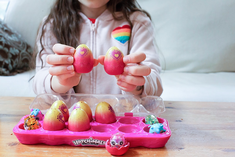 #ad #Hatchimals CollEGGtibles are the perfect addition to your Easter Basket this year! These @hatchimals are available at Walmart, Target, and Amazon! #IC