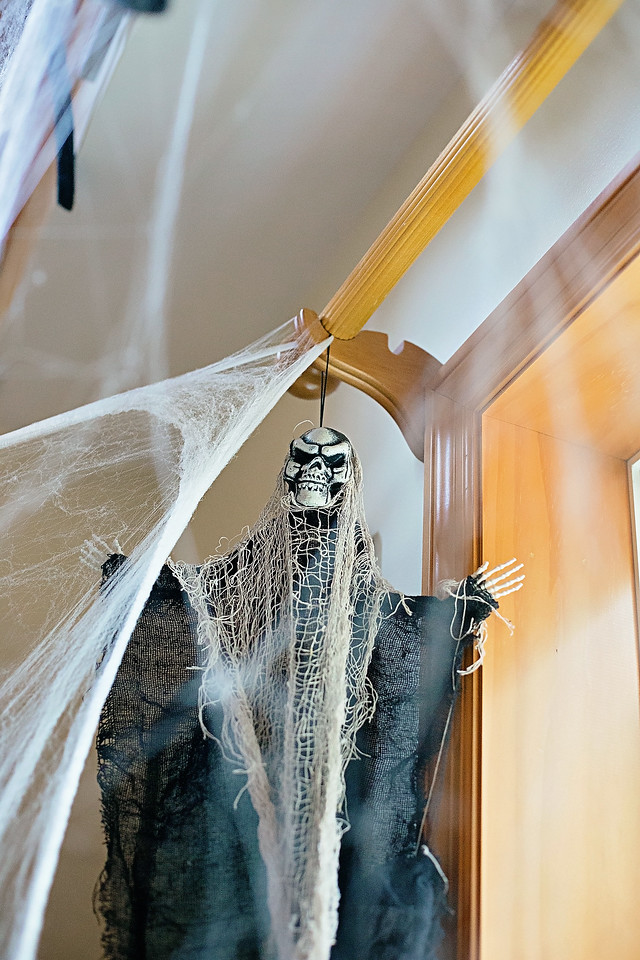 #ad Check out our SPOOKtacular In-Home Haunted House Decor from @partycity! #partycity #partycityhalloween #YouBooYou #morepartyforless #socialspotters