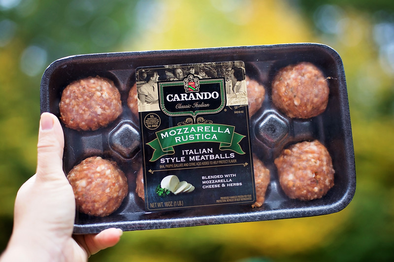 #ad This Meatball Snack Tray has some of my favorite things! And you can make your own perfect snack tray with #CarandoMeatballs #Carando #IC