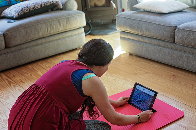 #ad Have you used #iFit yet? This is a wonderful way to do #personaltraining  or a #HomeWorkout that is interactive and personal to you! @iFit