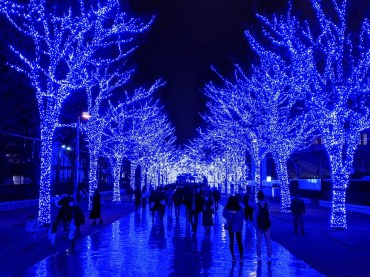 Shibuya Blue Cave Winter Illumination