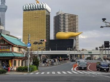 Walk – Asahi Building & Tokyo Skytree