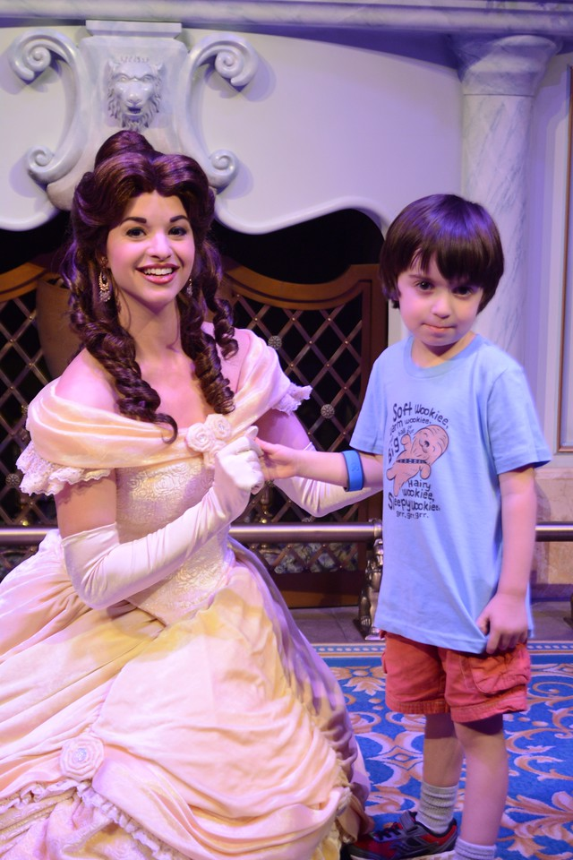 One of the greatest parts of going to Disney World - for us - is seeing princesses, meeting princesses, and getting their autographs! #travel #DisneyWorld