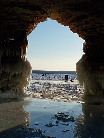 Overlooked destinations America Apostle Island Sea Caves Wisconsin