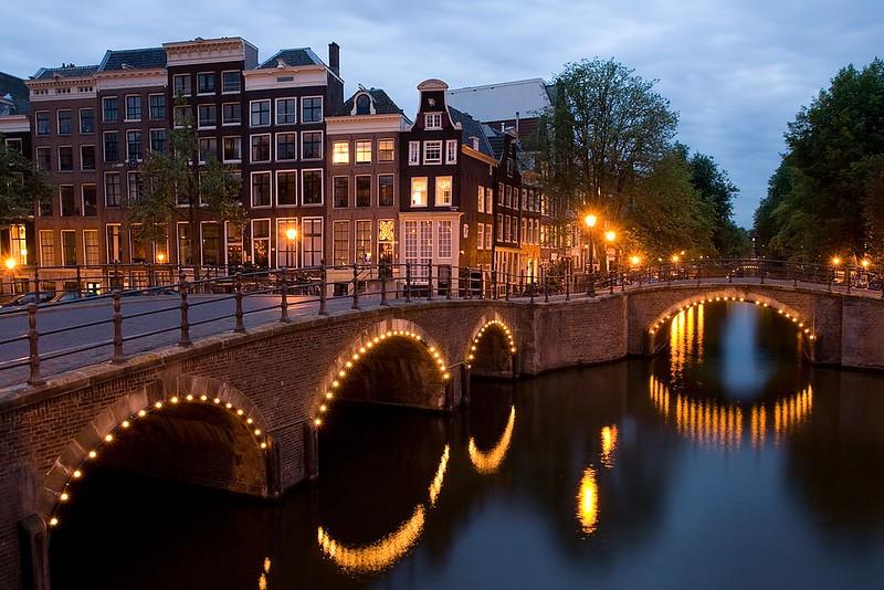 beautiful sunsets Amsterdam