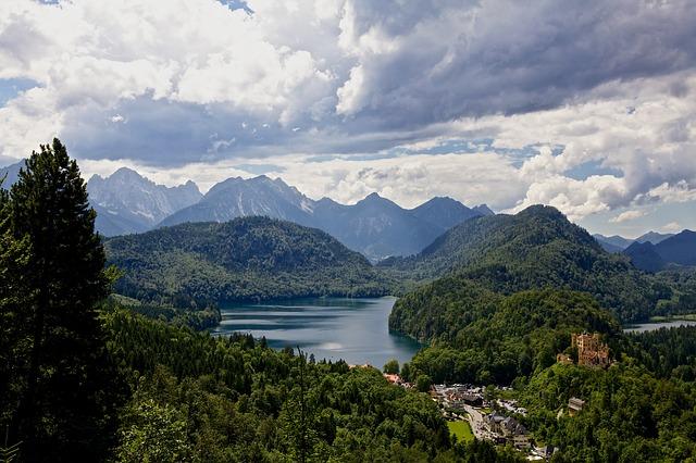 hohenschwangau alps alpsee bavaria
