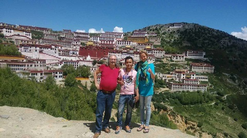 Lhasa Buddhist Temples Great three Gelugpa Monasteries
