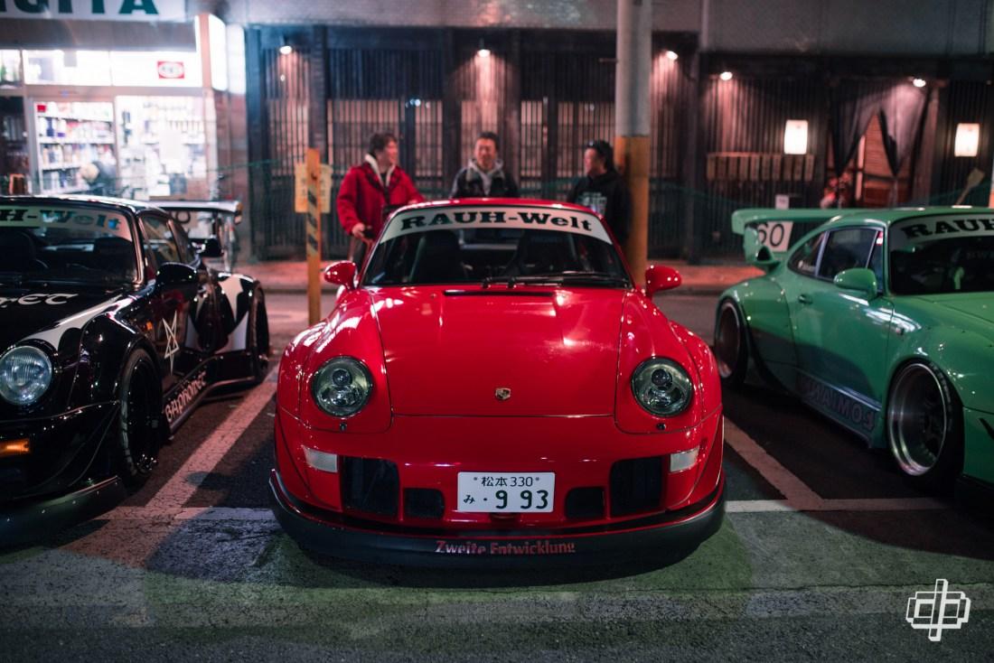 993 rwb journey to japan 2017