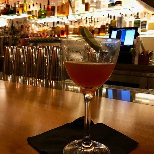 cocktail at County Bench in Sant Rosa, California