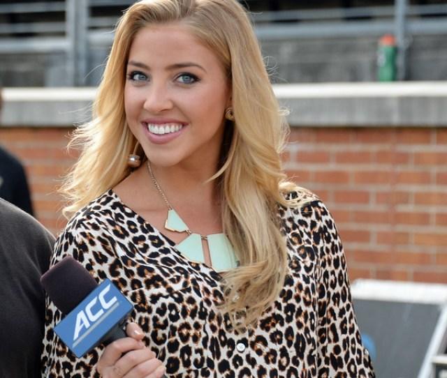 Olivia Harlan Sideline Reporter